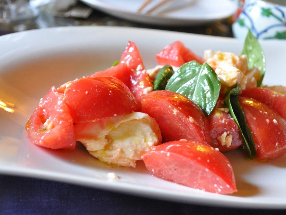 ガッテンの冷やしトマトの塩麹がけレシピ