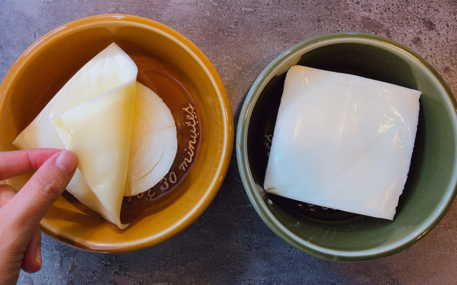 玉ねぎ丸ごとチーズ焼きの作り方(工程3)