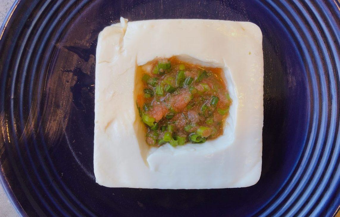 豆腐のお宝チーズ焼きの作り方(工程3-1)