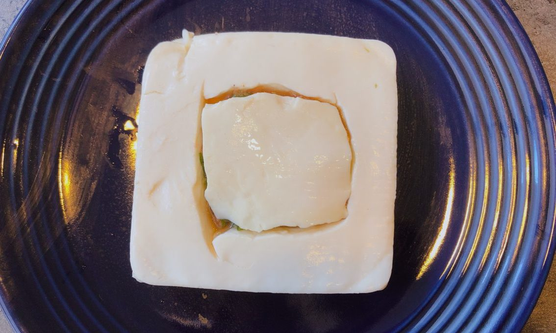 豆腐のお宝チーズ焼きの作り方(工程3-2)