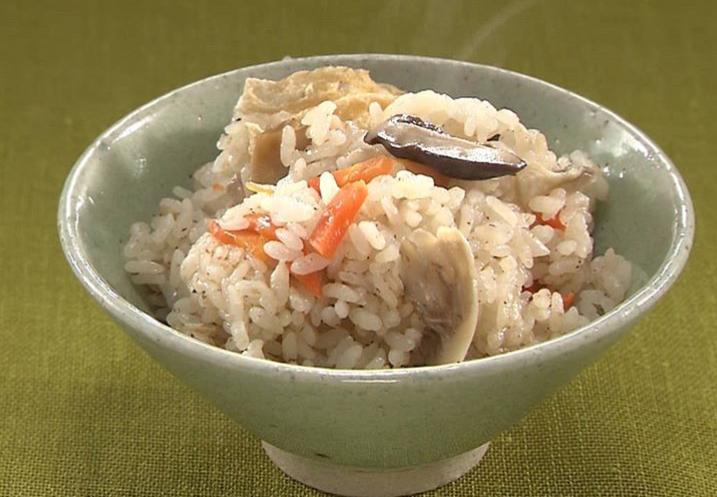 小倉優子の炊き込みご飯レシピ