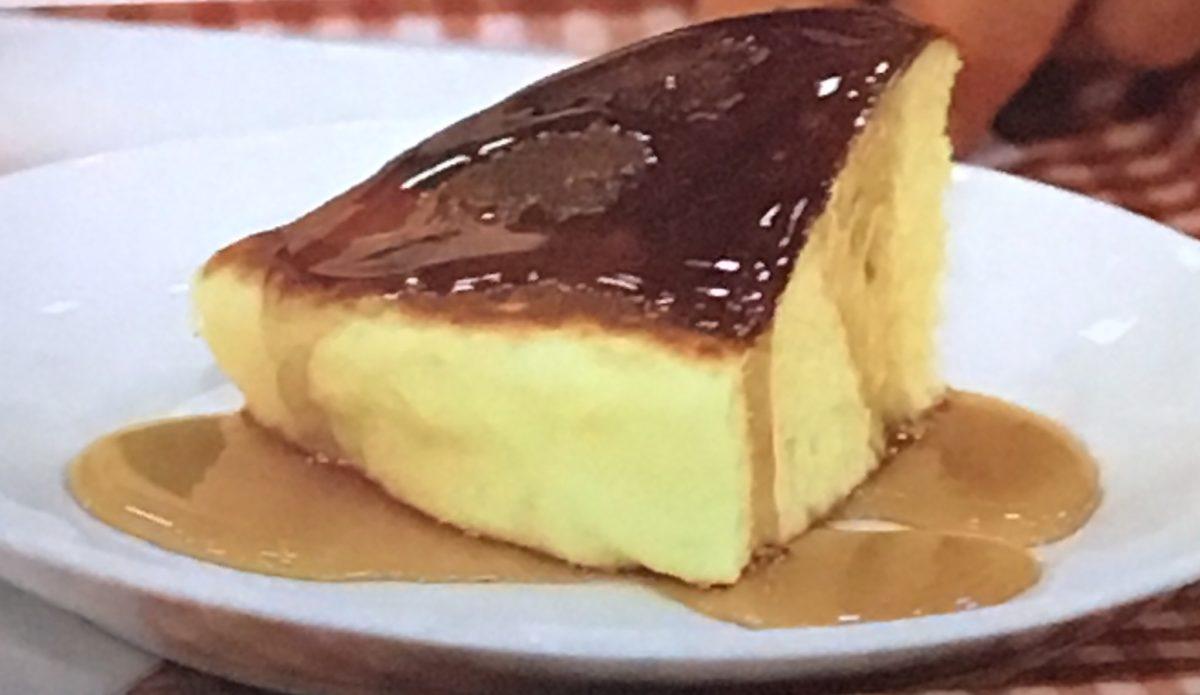 お餅の厚焼きパンケーキ