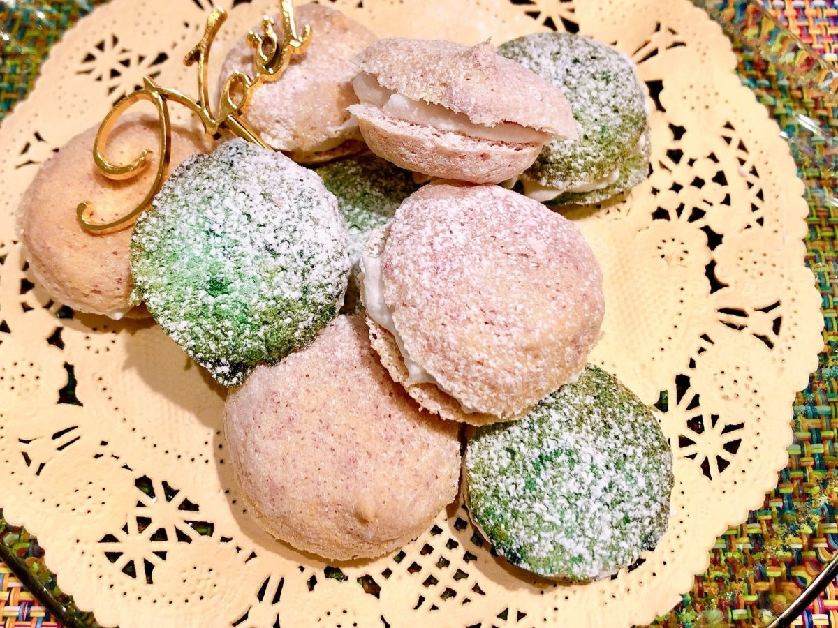 マカロン風メレンゲクッキーのレシピ
