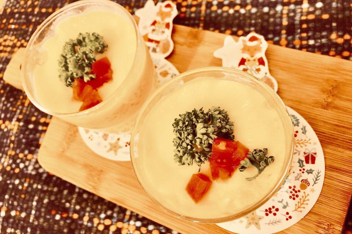 電子レンジで出来る洋風チーズ茶碗蒸しのレシピ