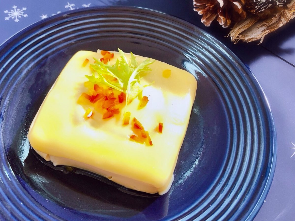 電子レンジで出来る豆腐のお宝チーズ焼きのレシピ