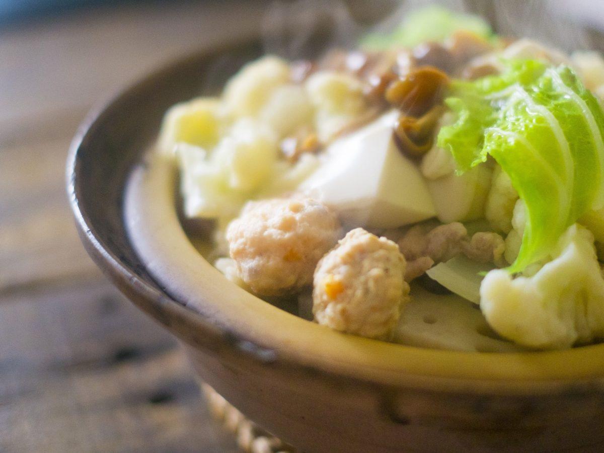 あさイチの柚子バター香る鮭のつくね鍋レシピ