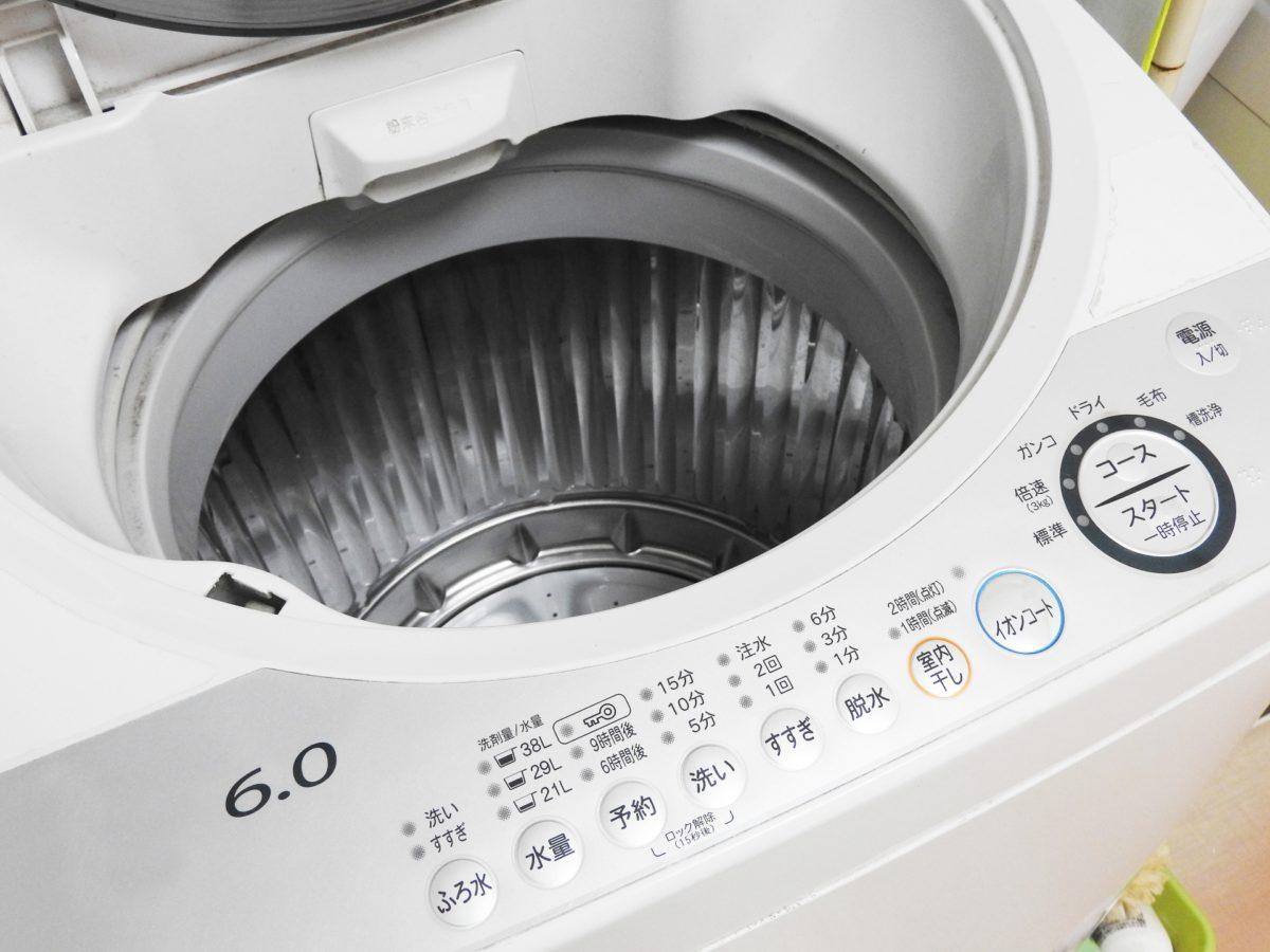 あさイチの洗濯機の掃除