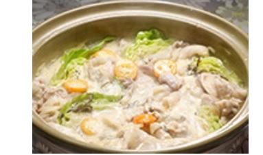 キャベツ豆乳鍋