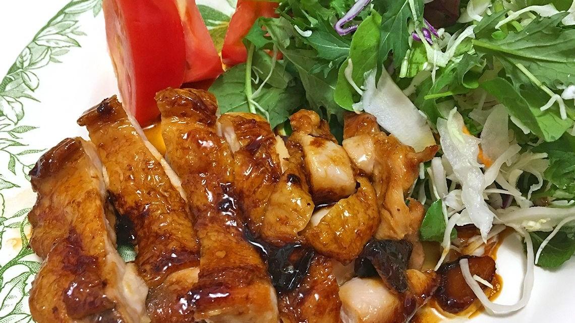 ダウンタウンDXの小倉優子の鶏の照り焼きレシピ