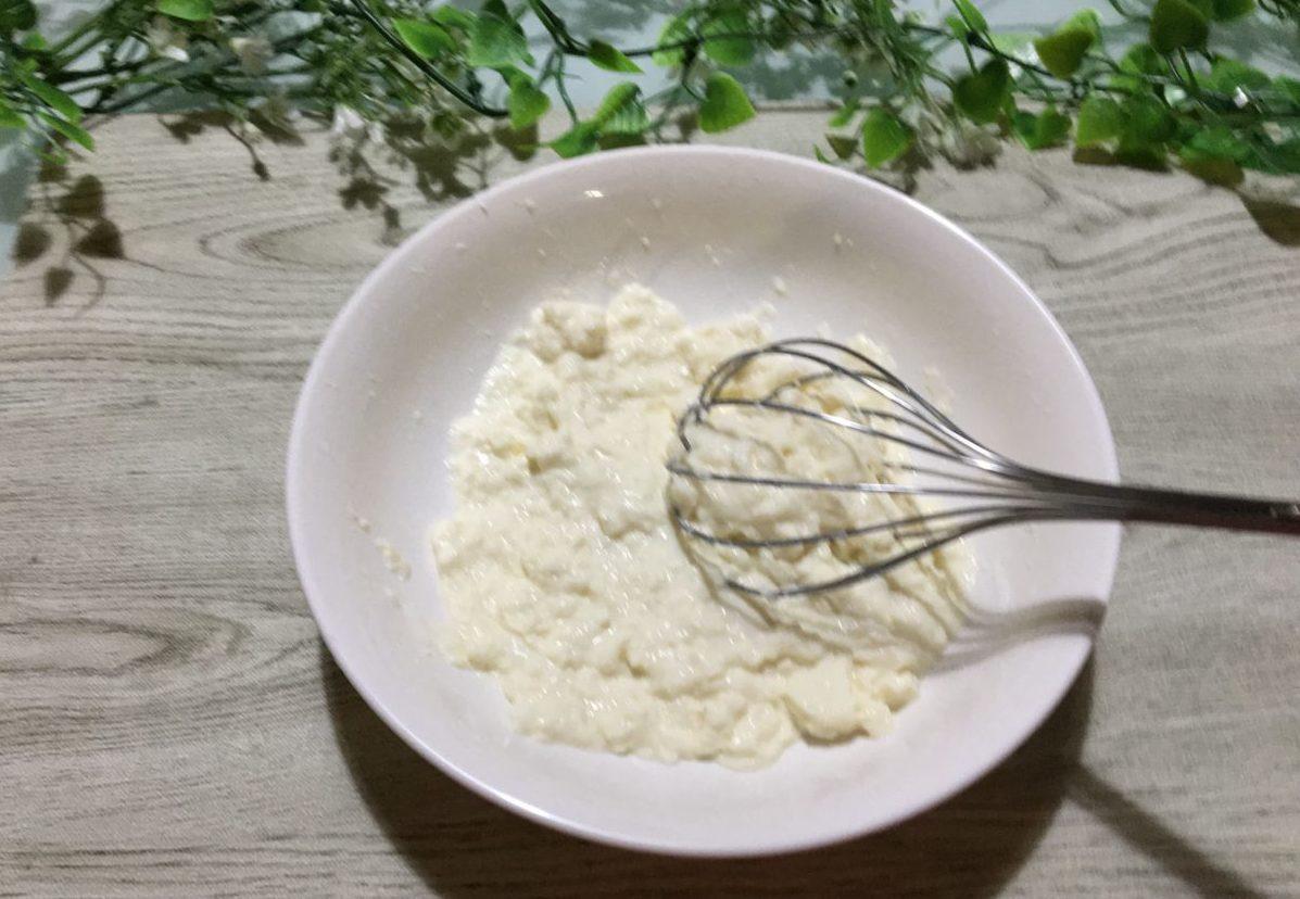 豆腐もちの作り方(工程1)