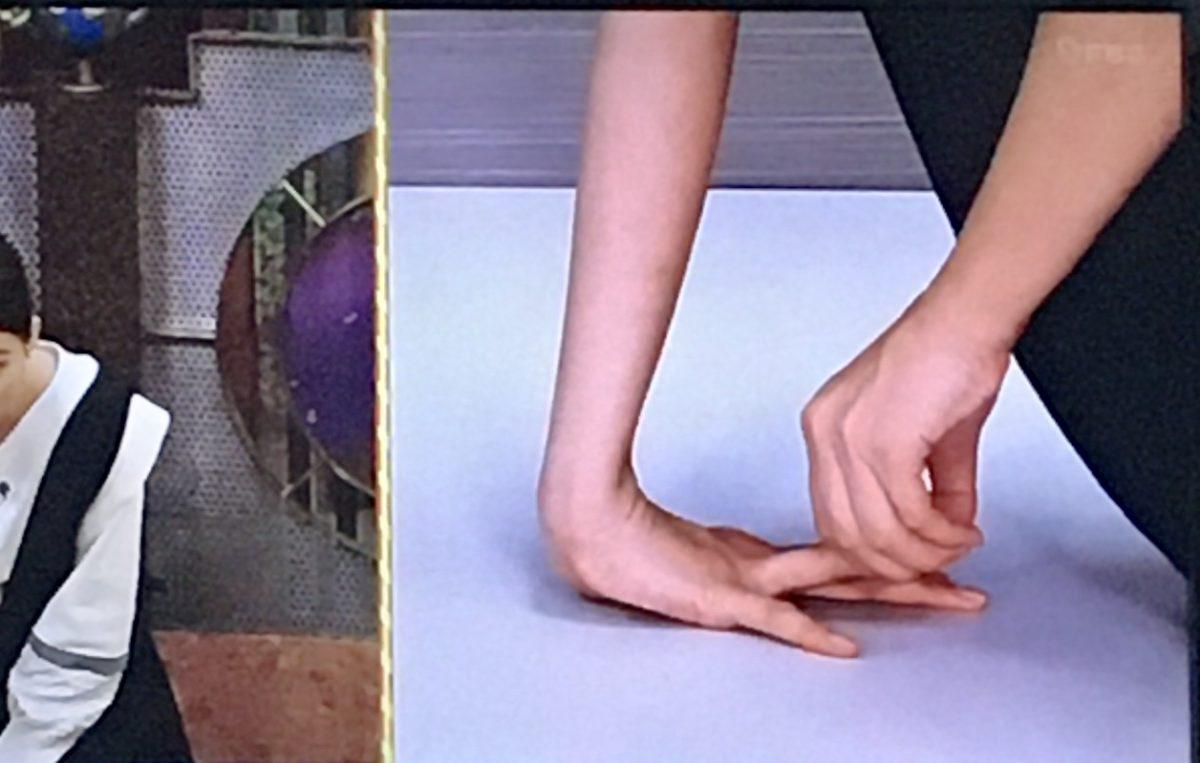 神ストレッチ(腕伸ばし)のやり方2