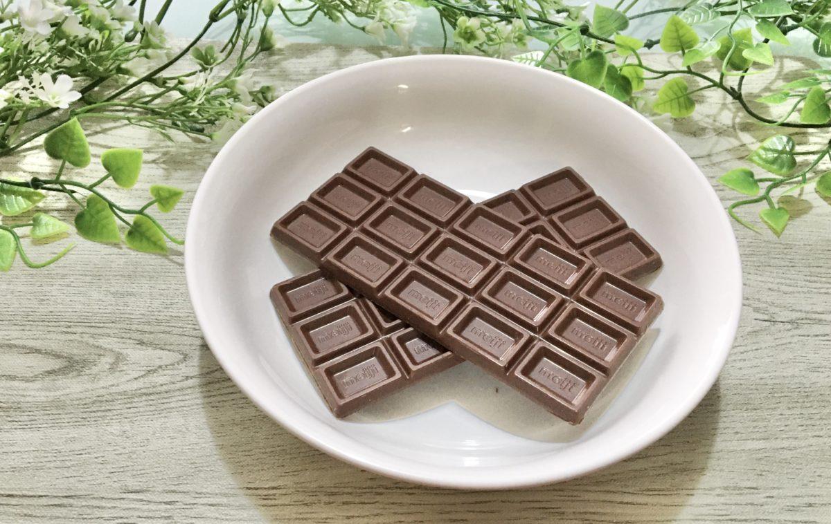 生チョコ豆腐の作り方(工程1)