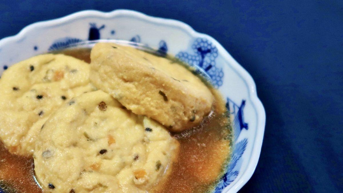 あさイチの豆腐のひろうすのお椀レシピ