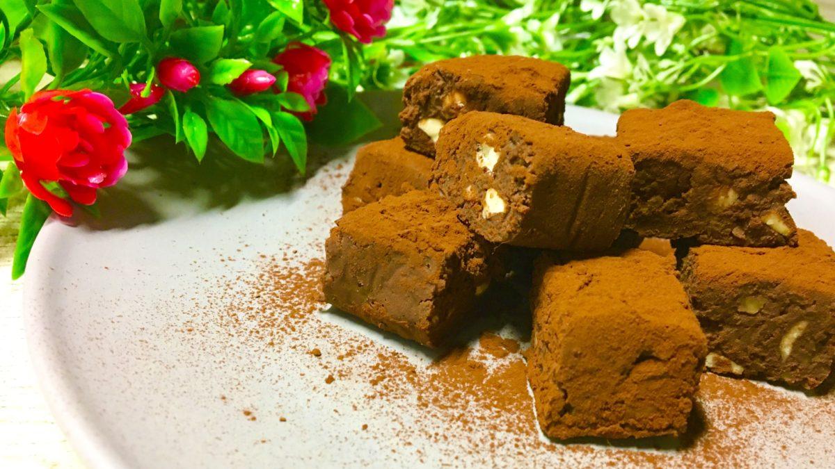 家事ヤロウの生チョコ豆腐レシピ
