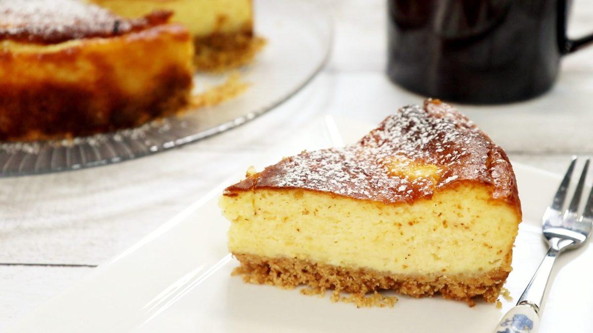 サタデープラスの山本ゆりのバスク風チーズケーキレシピ