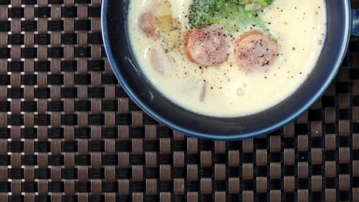 あさイチのほたての白みそ豆乳汁レシピ