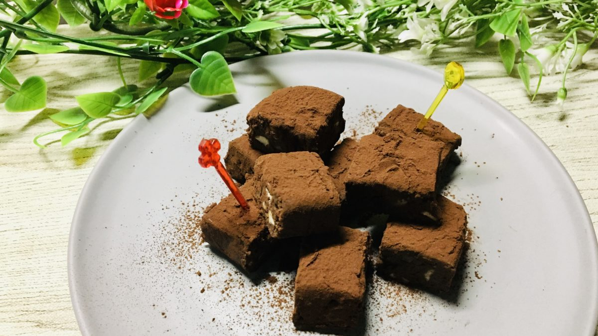 生チョコ豆腐