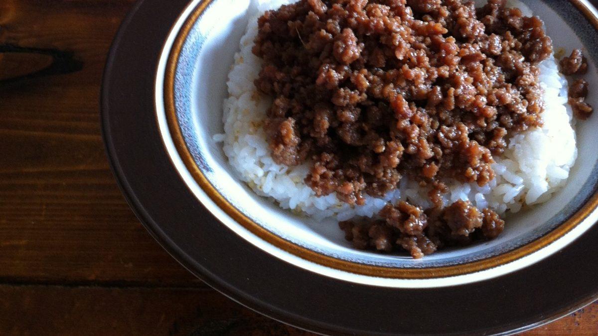 あさイチのあじの肉味噌レシピ