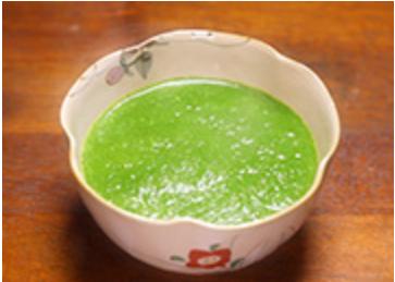 小松菜の茶碗蒸し