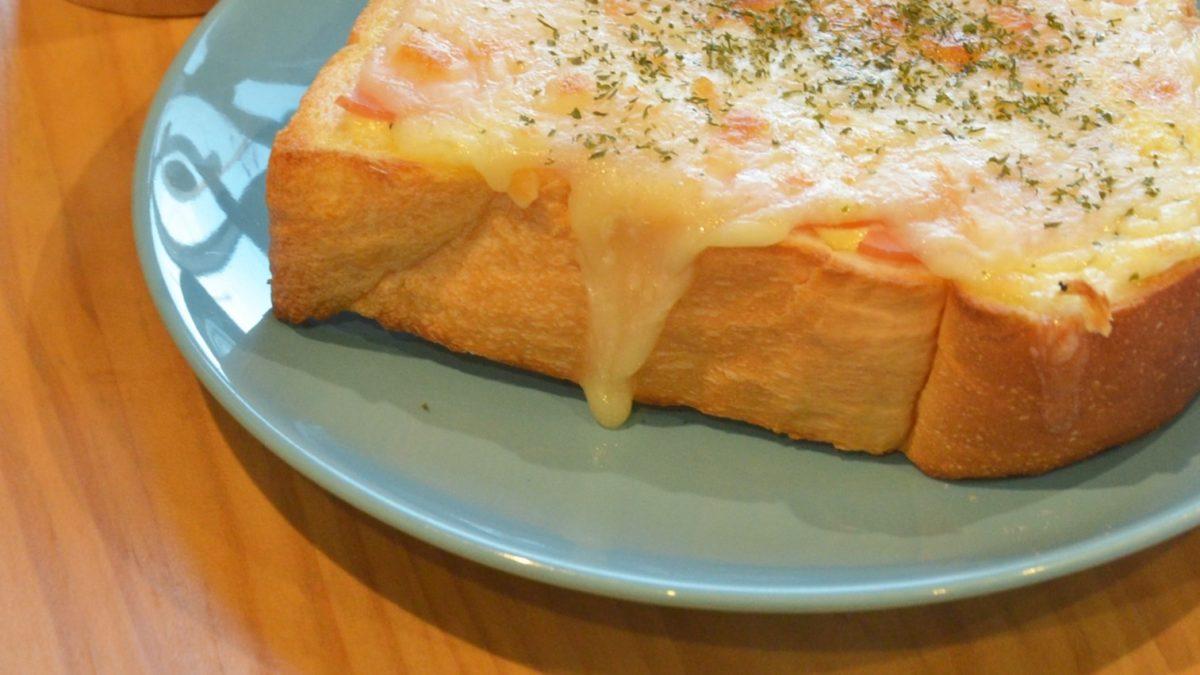 家事ヤロウのとろろピザトーストレシピ