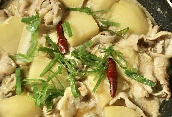 牡蠣の肉じゃがの作り方(工程7)