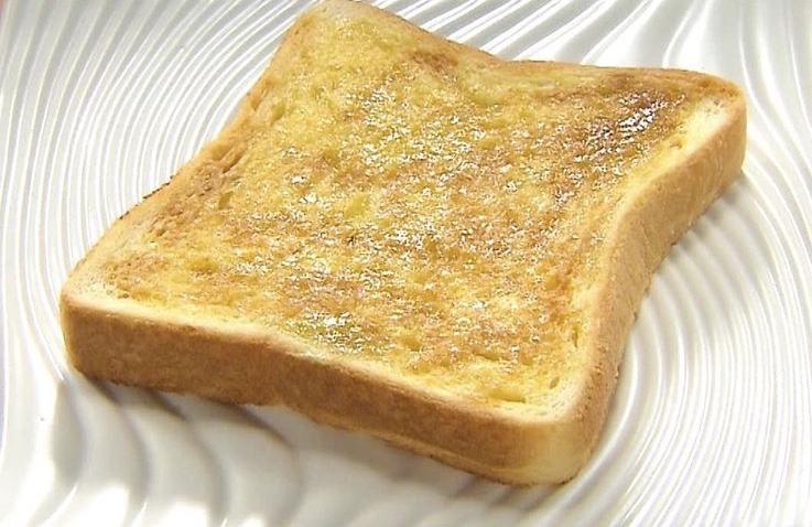 わさび醤油トースト