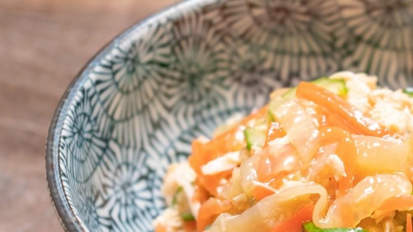 ごごナマのさばの水煮缶詰と野菜のひもかわ煮レシピ