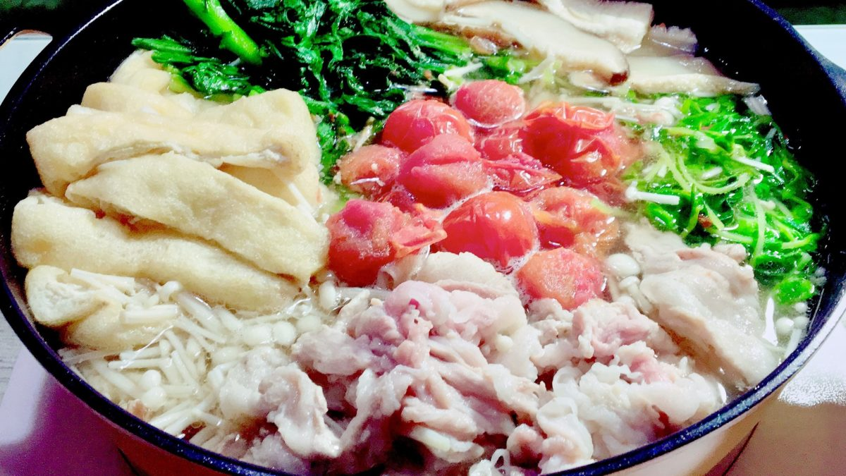 スッキリのAtsushiの豚肉とトマトのビューティー鍋レシピ