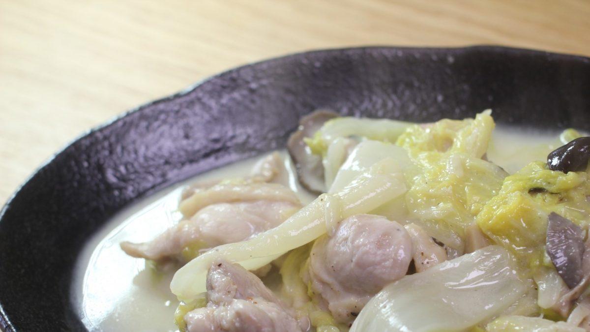 あさイチのカリフラワーのクリーム煮レシピ