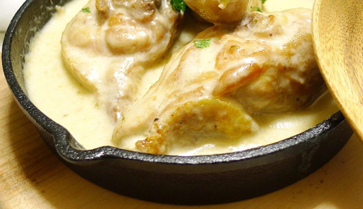 家事ヤロウの鶏肉のガーリック煮レシピ