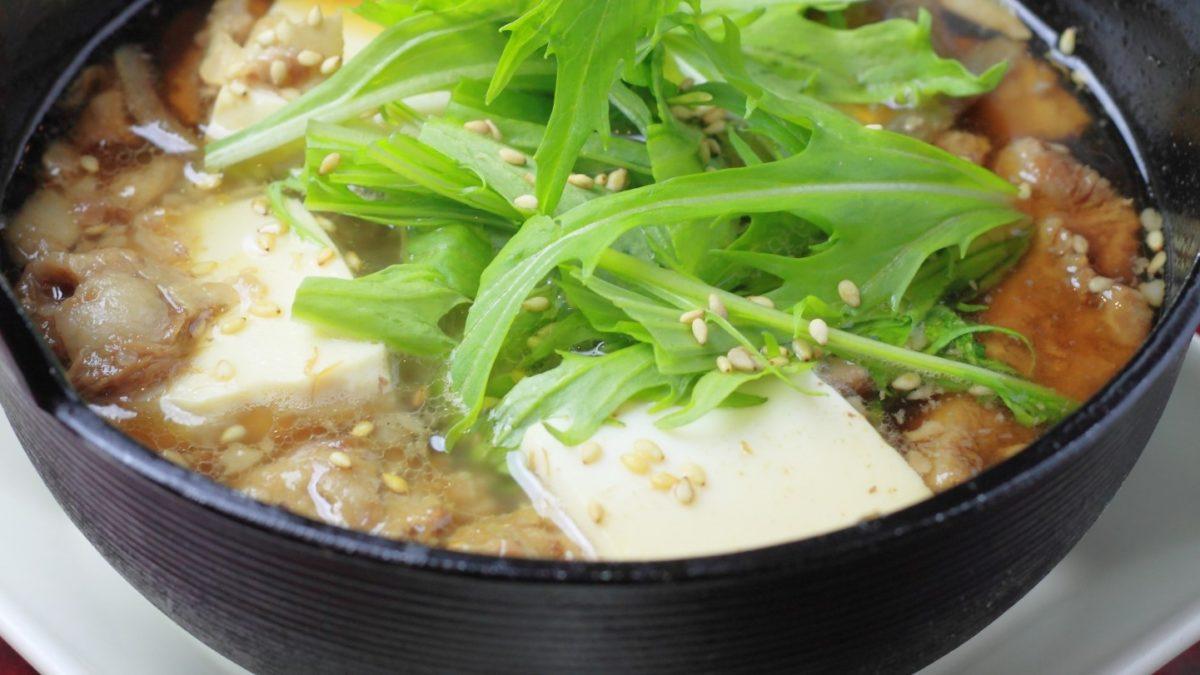 ごごナマのマグカップで作る肉豆腐レシピ