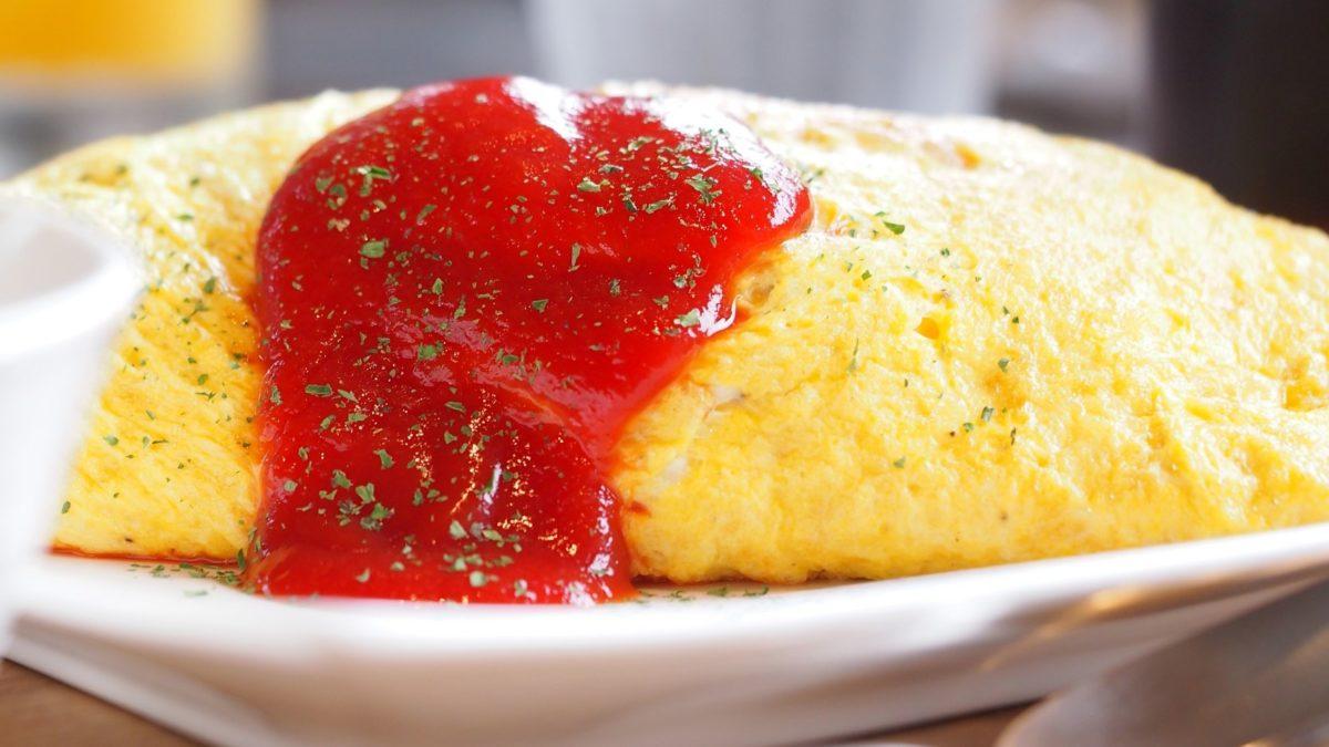 あさイチのオムライスのレシピ