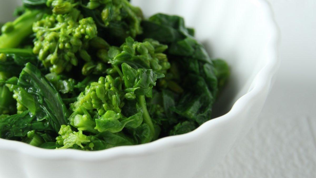 あさイチの春野菜の中華風おひたしのレシピ
