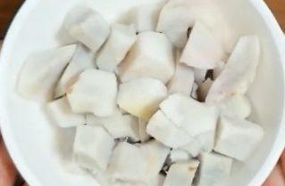 じゃこ天の炊き込みご飯の作り方(工程3)