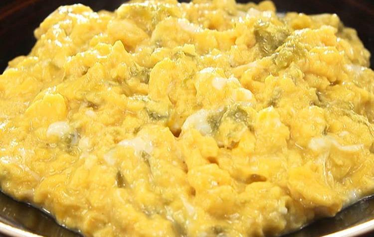 巻かない出汁巻き卵