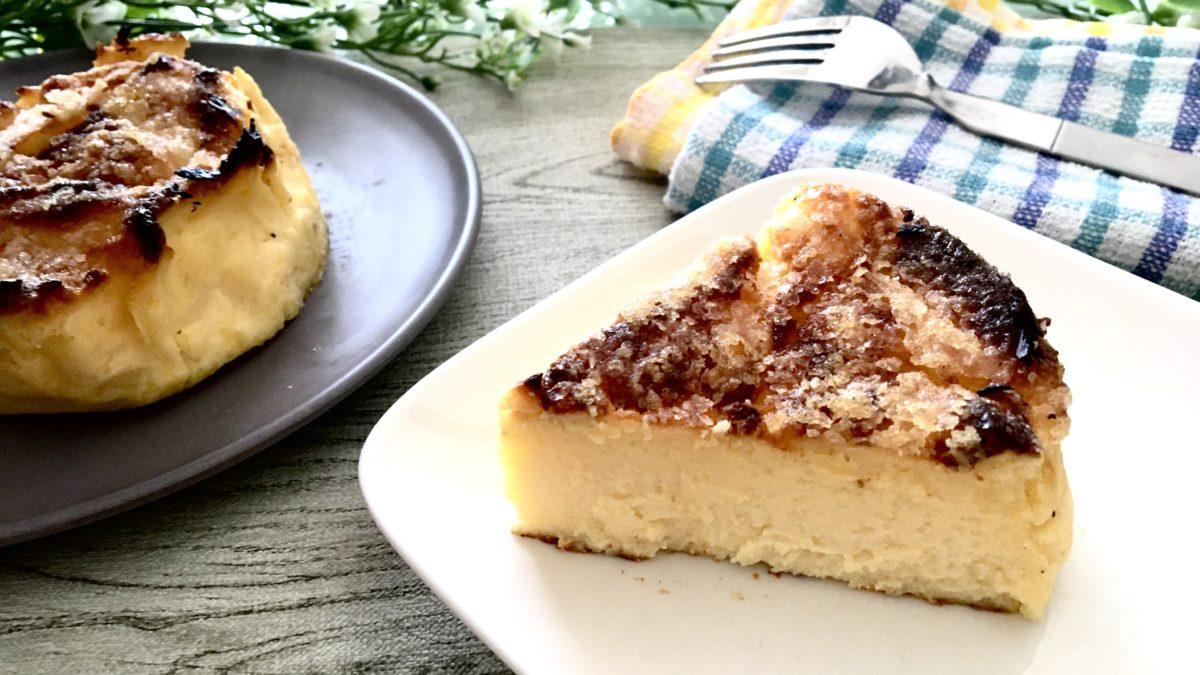 バスクチーズケーキの完成画像