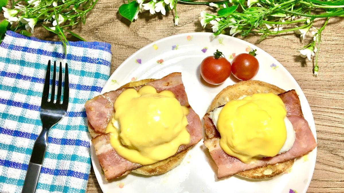 あさイチのエッグベネディクトのレシピ