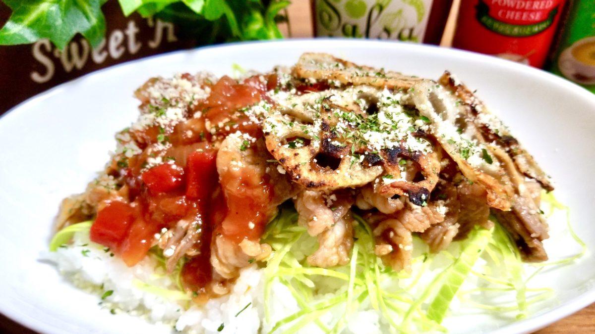 ヒルナンデスの木金レシピの牛肉の炒めものタコライス風