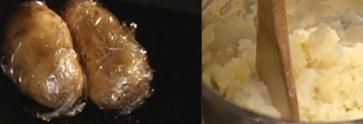 ロシア風ポテトサラダの作り方(工程1-1)