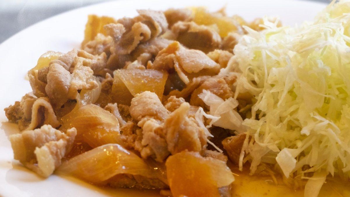 あさイチのチューブ生姜焼きレシピ