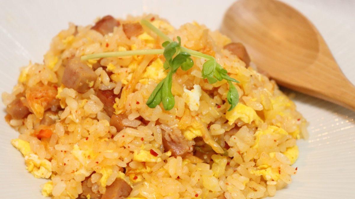 あさイチのチューブにんにく黄金炒飯レシピ