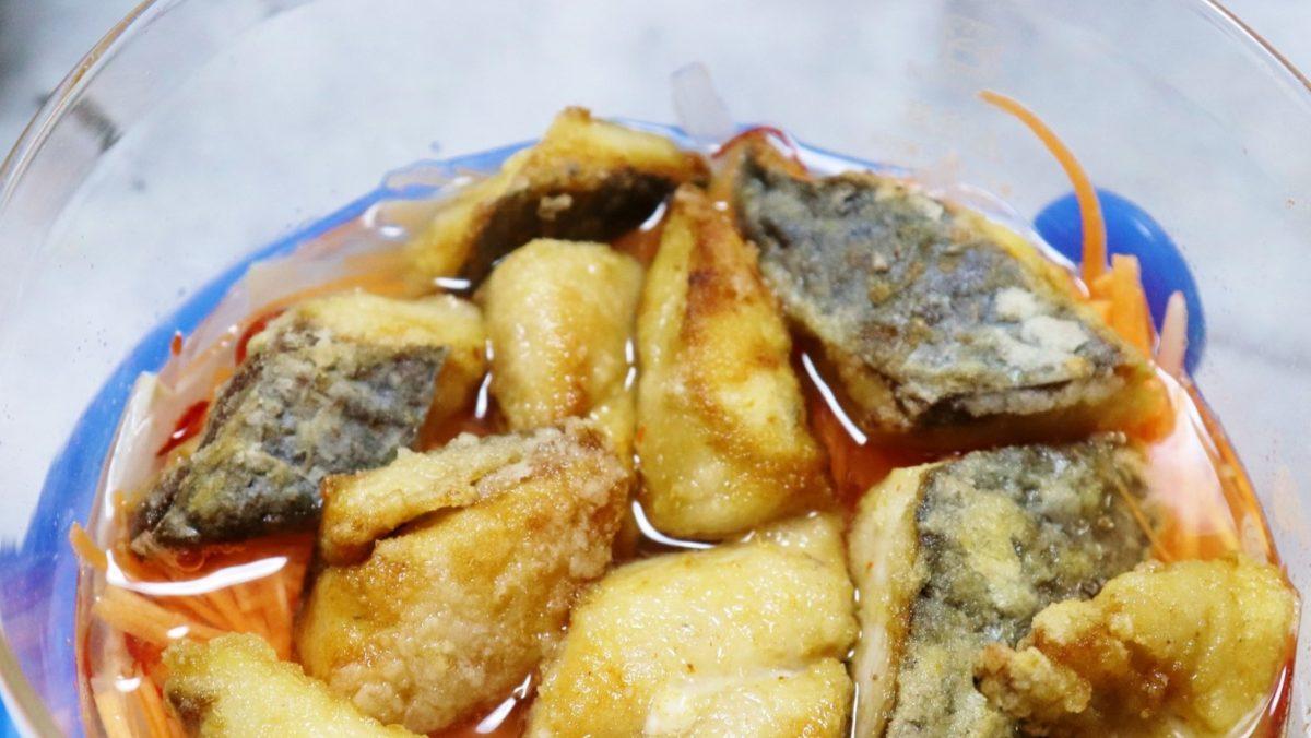 沸騰ワードの志麻さんのサバのビネガー焼きレシピ