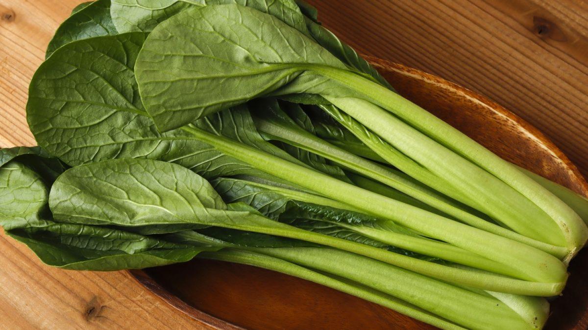鉄腕ダッシュの小松菜レシピ