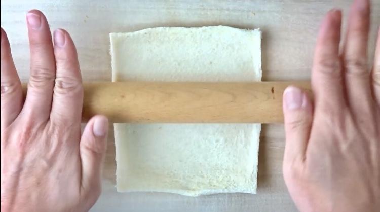 レトルトカレーのカレーパンの作り方(工程2)