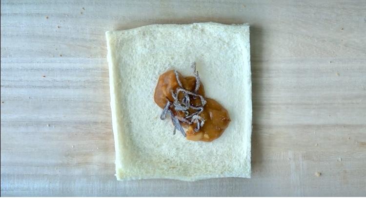 レトルトカレーのカレーパンの作り方(工程3)
