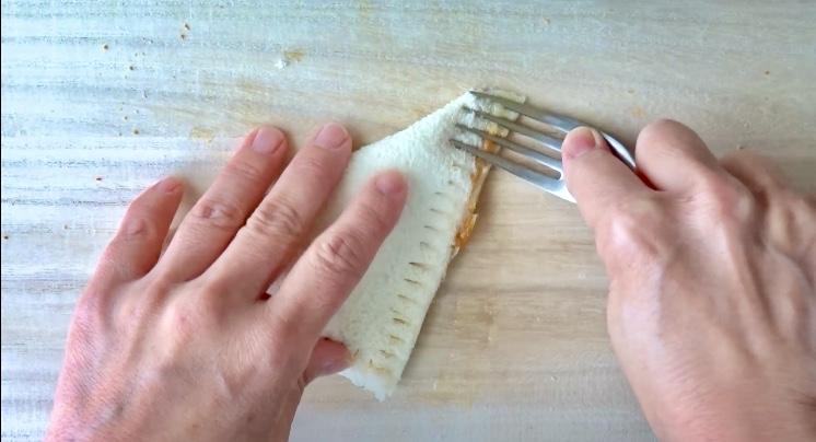 レトルトカレーのカレーパンの作り方(工程4)