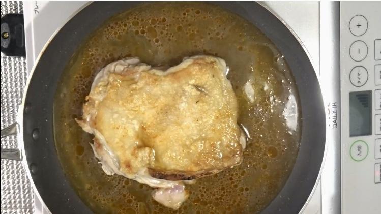 鶏の照り焼きの作り方(工程4)