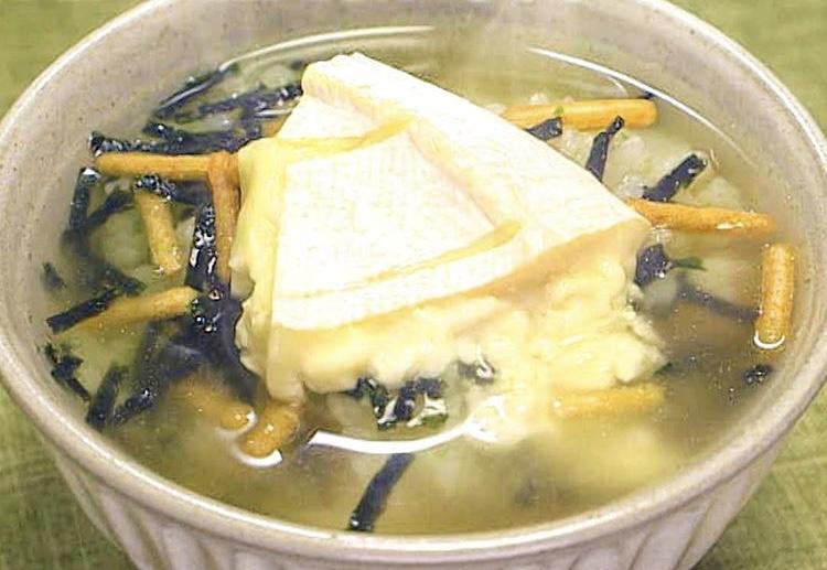 牡蠣だし醤油茶漬け