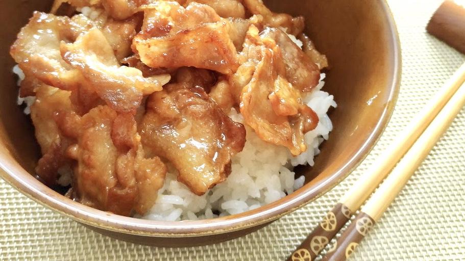 家事ヤロウのカルディ調味料の豚丼レシピ