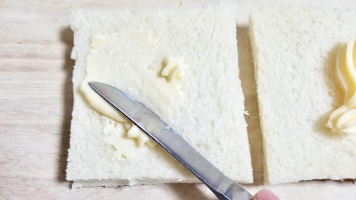 厚焼きたまごサンドの作り方(工程5)
